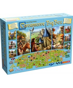 Mindok Carcassonne Big Box 2017