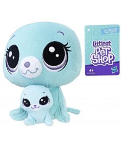 Littlest Pet Shop Duo plyšových zvířátek - Tuleň