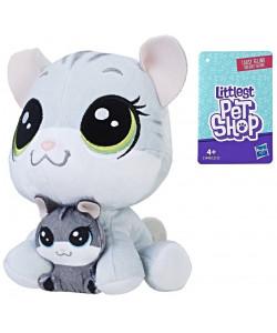Littlest Pet Shop Duo plyšových zvířátek - Koťátko