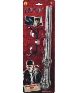 Harry Potter - doplňky (hůlka a brýle)