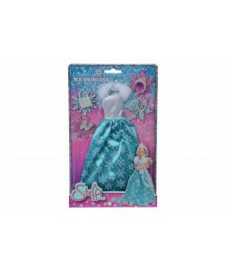 Šaty pro panenku Steffi Ice Princess