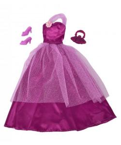 Šaty pro panenku Steffi Romantic World - fialové