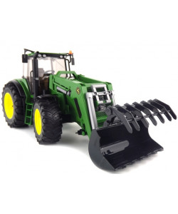 BRUDER Traktor John Deere7930 s předním nakladačem