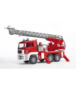 BRUDER 2771 MAN hasičské auto s výsuvným žebříkem