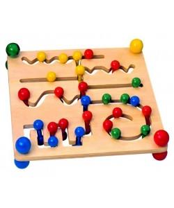 Woody - Motorický labyrint s kuličkami