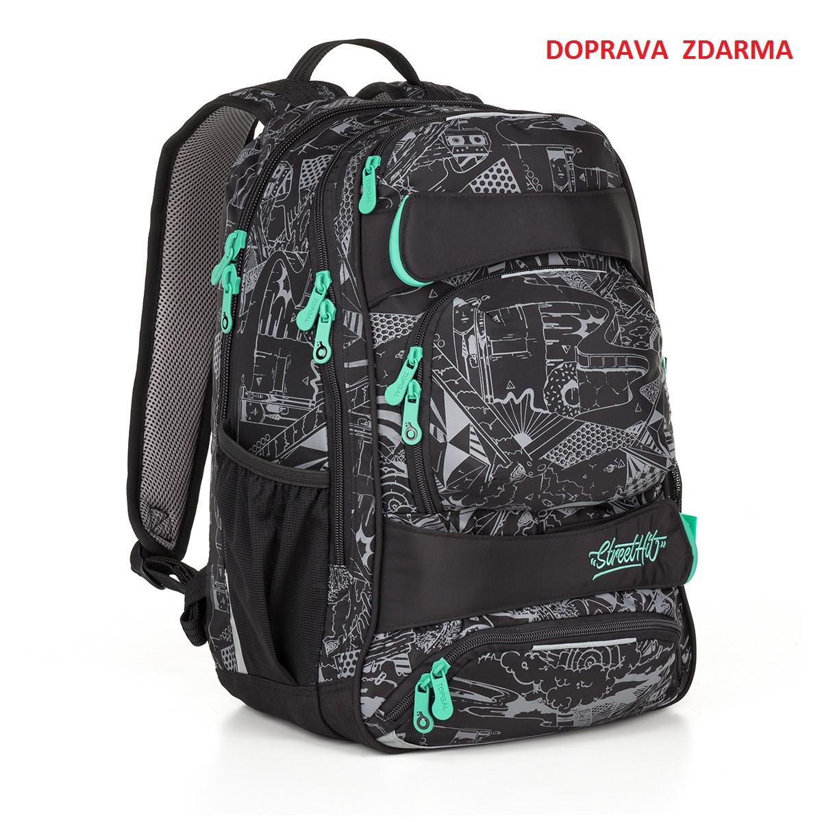 Studentský batoh Topgal YUMI 18028 B - Macíčkovy hračky 274005ee91