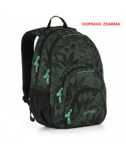 Studentský batoh Topgal HIT 895 E - Green
