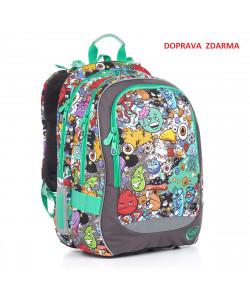 Školní batoh Topgal CHI 846 C Grey DOPRAVA ZDARMA