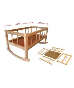 Kolébka dřevěná 50x28cm