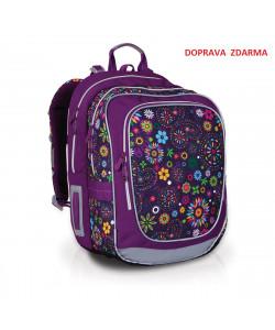 Školní batoh Topgal CHI 738I Purple Doprava zdarma