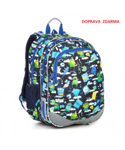 Školní batoh Topgal ELLY 18002 B DOPRAVA ZDARMA