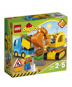 LEGO® DUPLO® 10812 Pásový bagr a náklaďák