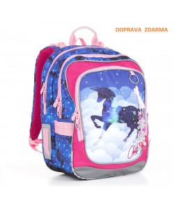 Školní batoh Topgal CHI 843 D Blue DOPRAVA ZDARMA