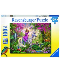 Ravensburger Puzzle Magická jízda 100 XXL dílků
