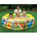 INTEX Nafukovací bazén Medvídek Pú 191x178x61 cm