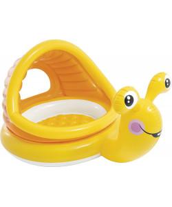 INTEX LAZY Snail Dětský bazén se stříškou Šnek