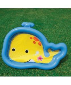 Nafukovací bazén velryba 127 x 94 x 10 cm