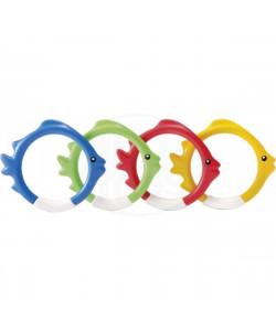 INTEX Kroužky na potápění v designu rybiček