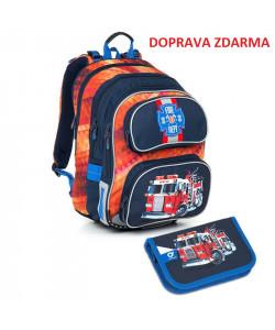 Školní batoh Topgal CHI 793 G SET SMALL