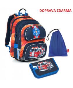 Školní batoh Topgal CHI 793 G SET MEDIUM