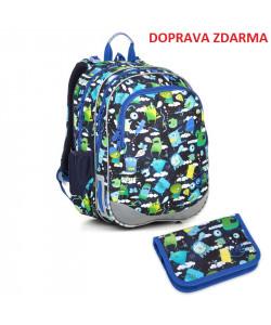 Školní batoh Topgal ELLY 18002 B SET SMALL