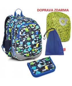 Školní batoh Topgal ELLY 18002 B SET LARGE