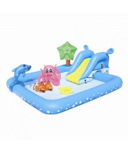 Bestway Nafukovací bazének se skluzavkou a doplňky