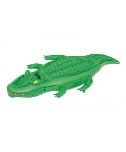 Bestway Nafukovací krokodýl s držadlem, 167x89 cm