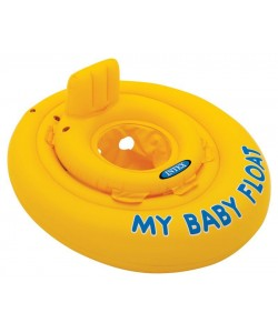Nafukovací kruh plavátko žluté kulaté 70 cm