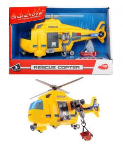 Dickie Vrtulník 18cm, světlo, zvuk