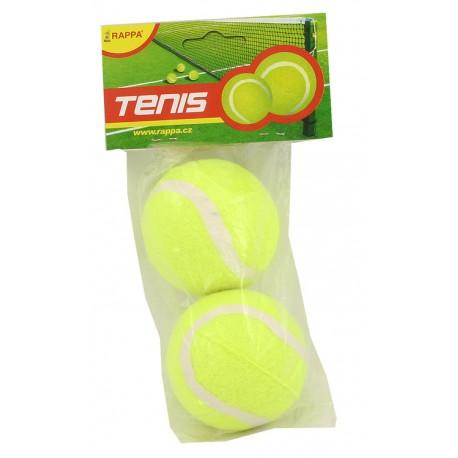 Míček tenisový, 2 ks v sáčku