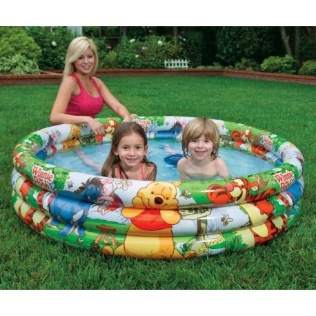 Nafukovací bazén Medvídek Pú 147x33 cm