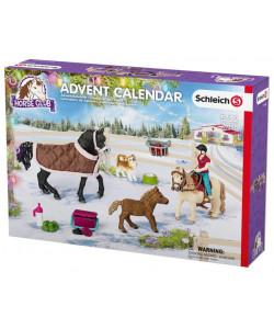 Schleich Adventní kalendář Schleich 2017 - Koně