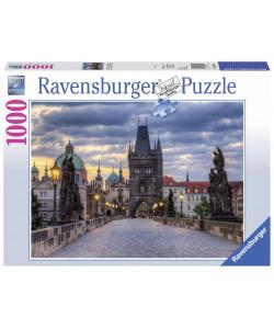 Puzzle Praha Procházka po Karlově mostě 1000 dílků
