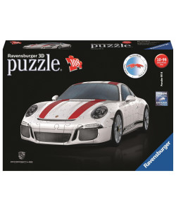 Ravensburger Puzzle 3D Porsche 911R, 108 dílků