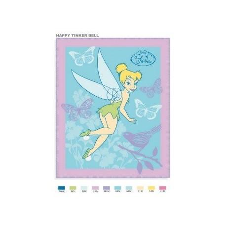 Dětská fleece deka Fairies 130/160
