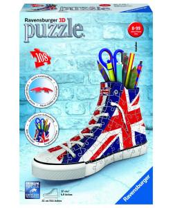 Puzzle 3D Kecka Union Jack 108 dílků