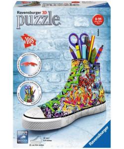 Puzzle 3 D Kecka Graffiti 108 dílků