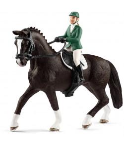 Schleich Jezdec s koněm