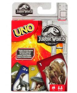 Mattel UNO karty Jurský svět
