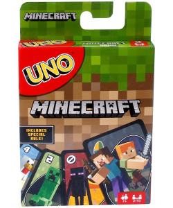 Mattel UNO karty Minecraft