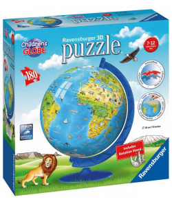 Ravensburger Puzzle Dětský Globus 180 dílků