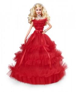 Barbie Panenka Holiday Doll Blondýnka