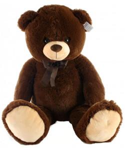 Lamps Plyšový medvěd tmavý 100 cm