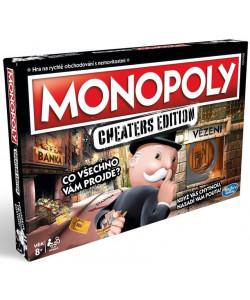 Hasbro Monopoly Cheaters edition CZ