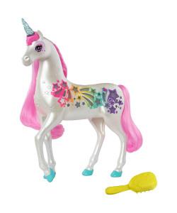 Mattel Barbie Jednorožec s magickou hřívou