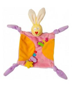 Taf Toys Králík mazlík - růžový