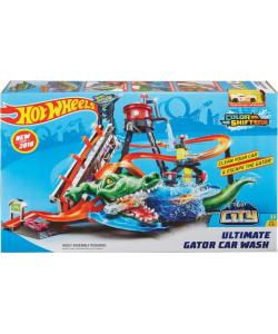Hot Wheels City - ultimátní automyčka s aligátorem