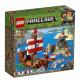 LEGO® Minecraft™ 21152 Dobrodružství pirátské lodi
