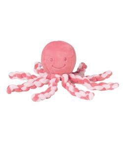 NATTOU Chobotnička PIU PIU Lapidou - Pink coral